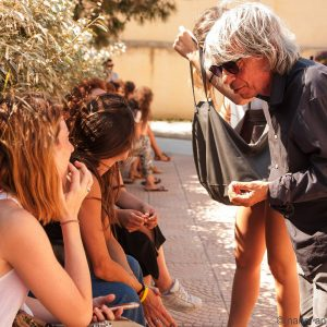 La Valigia dell'Attore - Sabato 28 luglio Ore 10,30 - Ex Magazzini Ilva (Cala Gavetta) - Paolo Rossi - foto Nanni Angeli