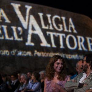 La Valigia dell'Attore - 25 luglio 2018 – Fortezza i Colmi – Isabella Ragonese e Daniele Vicari - foto di Nanni Angeli