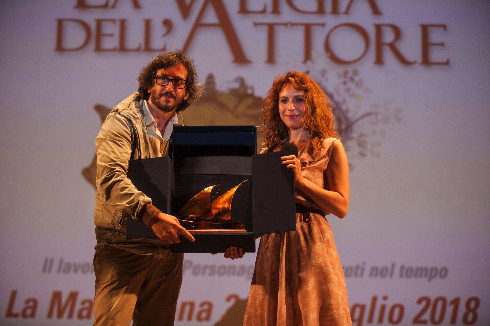 La Valigia dell'Attore - 25 luglio 2018 – Fortezza i Colmi – Premio Volonté a Isabella Ragonese - foto di Nanni Angeli