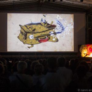 La Valigia dell'Attore - Giovedì 26 luglio 2018 - Fortezza I Colmi - Omaggio a Adriano Tovo; Giuseppe Battison Introduce il film Hotel Gagarin (2017) - foto Nanni Angeli Photographer