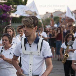 """La Valigia dell'Attore - 24 luglio 2018 - """"ANTEPRIMA"""" – Banda in marcia verso l'Arena La Conchiglia - Foto di Nanni Angeli"""