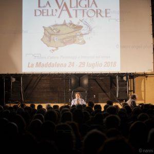 """La Valigia dell'Attore - 24 luglio 2018 - """"ANTEPRIMA"""" – Arena La Conchiglia - Presentazione del Film THE PLACE - Foto di Nanni Angeli"""