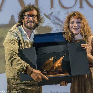 La Valigia dell'Attore - 25 luglio 2018 – Fortezza i Colmi – Premio Volonté 2018 a Isabella Ragonese - foto di Fabio Presutti