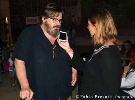 La Valigia dell'Attore - Giovedì 26 luglio 2018 - Fortezza I Colmi - Giuseppe Battison e Barbara Sorrentini (Radio Popolare) - foto Fabio Presutti