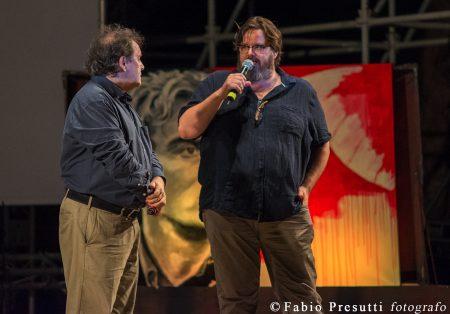 La Valigia dell'Attore - Giovedì 26 luglio 2018 - Fortezza I Colmi - Enrico Magrelli e Giuseppe Battison - foto Fabio Presutti