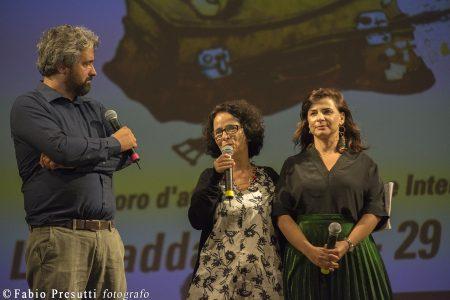 La Valigia dell'Attore - Venerdi 27 luglio 2018 - Ore 21,30 - Fortezza I Colmi - Consegna del Premio Cagliari Film Fest a Annarita Zambrano - Foto di Fabio Presutti