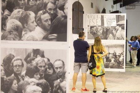 """La valigia dell'attore - 24 luglio 2019 - Fortezza I Colmi - Mostra fotografica: """"Gian Maria Volonté negli scatti di Marcello Geppetti"""" - foto di Nanni Angeli"""