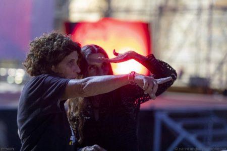 La valigia dell'attore - 24 luglio 2019 - Fortezza I Colmi - Angela Molina e Giovanna Gravina - foto di Nanni Angeli