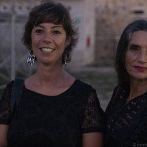 La valigia dell'attore - 24 luglio 2019 - Fortezza I Colmi - Monica Bulciolu e Angela Molina - foto di Nanni Angeli