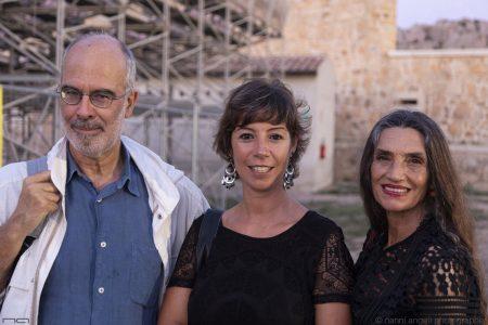 La valigia dell'attore - 24 luglio 2019 - Fortezza I Colmi - Fabio Ferzetti , Monica Bulciolu e Angela Gravina - foto di Nanni Angeli