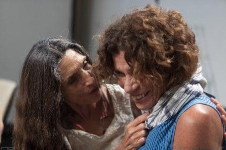 La valigia dell'attore 25 luglio 2019 - Magazzini Ex Ilva - Incontro con Angela Molina, Jacopo Cullin, Francesco Piras - foto Nanni Angeli