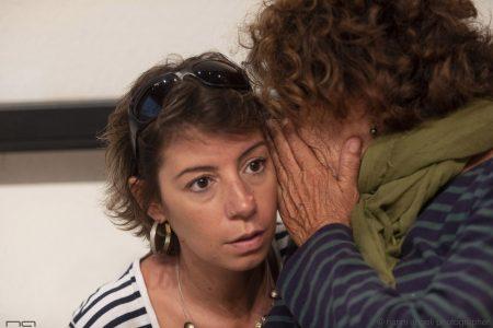 La valigia dell'attore 2019 - 28 luglio - Magazzini Ex Ilva - Incontro - Monica Bulciolu e Giovanna Gravina - foto di Nanni Angeli
