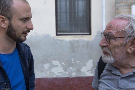La valigia dell'attore 2019 - 28 luglio - Magazzini Ex Ilva - Giovanni Battista Origo e Renato Carpentieri - foto di Nanni Angeli