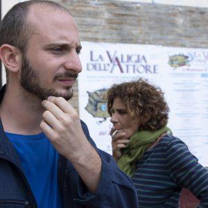 La valigia dell'attore 2019 - 28 luglio - Magazzini Ex Ilva - Giovanni Battista Origo e Giovanna Gravina - foto di Nanni Angeli