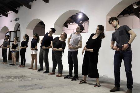 Quarto giorno del Valigialab 2019 condotto da Carlo Cecchi con la collaborazione di Fabrizio Deriu. Foto di Ugo Buonamici