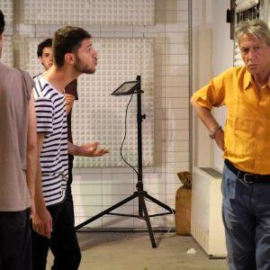 Terzo giorno del Valigialab 2019 condotto da Carlo Cecchi con la collaborazione di Fabrizio Deriu. Foto di Ugo Buonamici