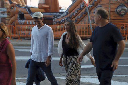 La Valigia dell'Attore – 23 luglio 2019 – Piazza Umberto I – Jacopo Cullin e Angela Molina – Foto di Ugo Buonamici