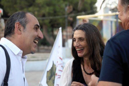La Valigia dell'Attore – 23 luglio 2019 – Paolo Zucca e Angela Molina – Foto di Ugo Buonamici