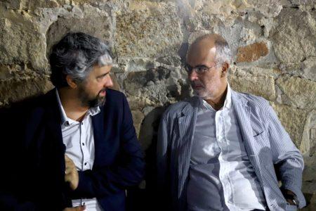 La valigia dell'attore 2019 - 27 luglio - Fortezza I Colmi - Boris Sollazzo e Fabio Ferzetti - foto di Ugo Buonamici