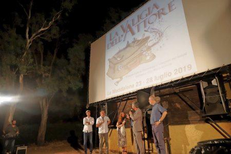 La Valigia dell'Attore – 23 luglio 2019 – Arena La Conchiglia – presentazione del film L'uomo che comprò la Luna (2018) - Foto di Ugo Buonamici