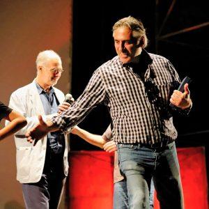 La valigia dell'attore 25 luglio 2019 - Fortezza I Colmi - Alessandro Gazale - Foto di Ugo Buonamici