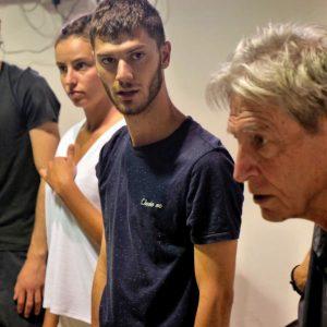Secondo giorno del Valigialab 2019 condotto da Carlo Cecchi con la collaborazione di Fabrizio Deriu. Foto Ugo Buonamici