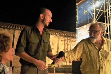 La valigia dell'attore 2019 - 27 luglio - Fortezza I Colmi - Giovanna Gravina, Giovanni Battista Origo, Alessandro Haber - foto di Ugo Buonamici