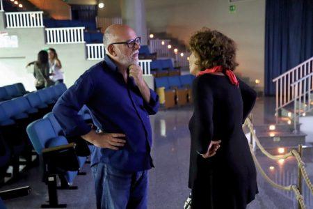 La valigia dell'attore 2019 - 28 luglio - Sala Primo Longobardo - Fabio Canu e Giovanna Gravina. Foto di Ugo Buonamici