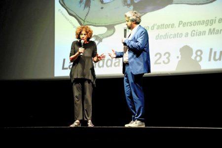 La valigia dell'attore 2019 - 28 luglio - Sala Primo Longobardo - Giovanna Gravina e Boris Sollazzo. Foto di Ugo Buonamici