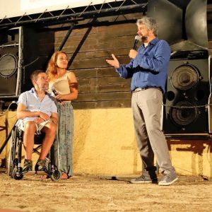 La Valigia dell'Attore – 23 luglio 2019 – Arena La Conchiglia – Antonello Tovo per Acque Libere - Foto di Ugo Buonamici