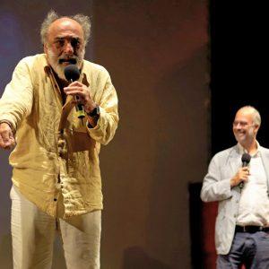 La valigia dell'attore 2019 - 27 luglio - Fortezza I Colmi - Alessandro Haber, Fabio Ferzetti - foto di Ugo Buonamici