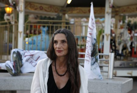 La Valigia dell'Attore – 23 luglio 2019 – Piazza Umberto I – Angela Molina – Foto di Nanni Angeli