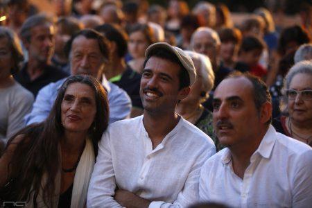 La Valigia dell'Attore – 23 luglio 2019 – Arena La Conchiglia – Angela Molina, Jacopo Cullin e Paolo Zucca - Foto di Nanni Angeli