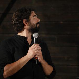 La Valigia dell'Attore – 23 luglio 2019 – Arena La Conchiglia – Francesco Piras - presentazione del cortometraggio Il Nostro concerto (2018) - Foto di Nanni Angeli