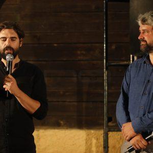 La Valigia dell'Attore – 23 luglio 2019 – Arena La Conchiglia – Francesco Piras e Boris Sollazzo - presentazione del cortometraggio Il Nostro concerto (2018) - Foto di Nanni Angeli