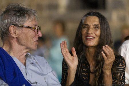 La valigia dell'attore - 24 luglio 2019 - Fortezza I Colmi - Carlo Cecchi e Angela Molina - foto di Nanni Angeli