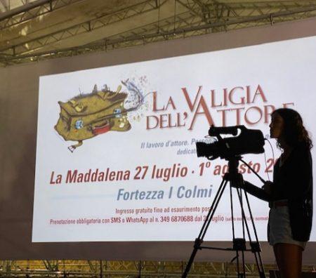 La valigia dell'attore 2020 - 27 luglio - Fortezza I Colmi - Federica Biosa - Foto di Elisabetta Castiglioni