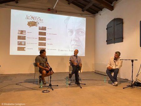 La Valigia dell'attore – 30 luglio 2020 – Fortezza I Colmi – Ore 11.00 - Incontro con Francesco Acquaroli - foto © Elisabetta Castiglioni