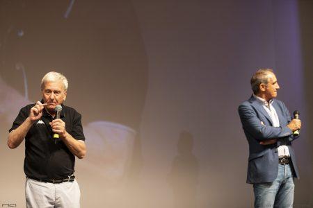 """La valigia dell'attore 2020 - 27 luglio - Fortezza I Colmi - Pino Boi, Sergio Naitza - Introduzione """"L'ultimo Pizzaiolo"""" - Foto di Nanni Angeli"""