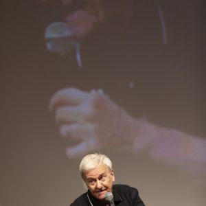 """La valigia dell'attore 2020 - 27 luglio - Fortezza I Colmi - Pino Boi - Introduzione """"L'ultimo Pizzaiolo"""" - Foto di Nanni Angeli"""