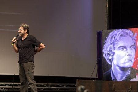 """La valigia dell'attore 2020 - 27 luglio - Fortezza I Colmi - Arnaldo Pontis - Introduzione """"L'ultimo Pizzaiolo"""" - Foto di Nanni Angeli"""