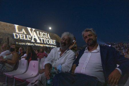 La Valigia dell'attore – 1 agosto 2020 – Fortezza I Colmi – Ore 21,15 - Gianfranco Cabiddu e Boris Sollazzo - foto ©Nanni Angeli