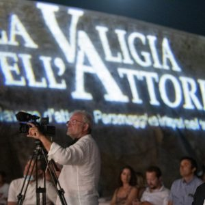 La Valigia dell'attore – 1 agosto 2020 – Fortezza I Colmi – Ore 21,15 - Luca Filippi introduce la proiezione del film Hammamet - foto ©Nanni Angeli