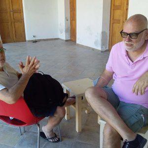 Valigialab 2020 - giorno 5: Laboratorio residenziale gratuito sulle tecniche di recitazione condotto da Daniele Luchetti con la collaborazione di Fabrizio Deriu e e incontro con Luca D'Ascanio per Artisti 7607 - photo Giogravol