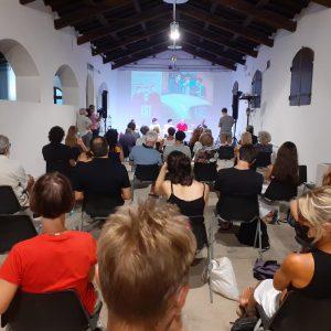 La Valigia dell'attore – 30 luglio 2021 – Fortezza I Colmi – Ore 11,00 - Incontro - Matteo Gatta e Jacopo Costantini - foto ©Giovanna Gravina