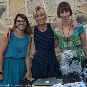 La Valigia dell'attore – 31 luglio 2021 – Fortezza I Colmi – STAFF (Carla Caredda, Francesca Forcolin e Monica Bulciolu) - foto ©Fabio Presutti