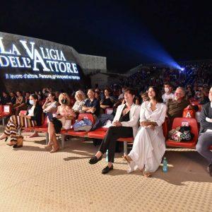 La Valigia dell'attore – 31 luglio 2021 – Fortezza I Colmi – Ore 21:15 - Premio Gian Maria Volonté 2021 a Donatella Finocchiaro - foto ©Fabio Presutti