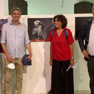 La Valigia dell'attore – 28 luglio 2021 – Fortezza I Colmi – Silvia Scola, Pierfrancesco Diliberto (Pif), Giovanna Gravina e Fabio Ferzetti - foto ©Elisabetta Castiglioni