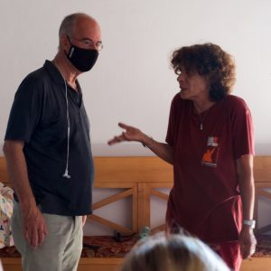 La Valigia dell'attore – 30 luglio 2021 – Fortezza I Colmi – Ore 11,00 - Fabio Ferzetti e Giovanna Gravina - foto ©Ugo Buonamici