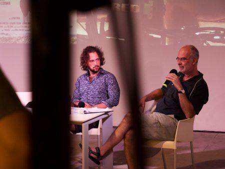 La Valigia dell'attore – 30 luglio 2021 – Fortezza I Colmi – Ore 11,00 - Incontro con Jacopo Costantini, Matteo Gatta, Maurizio Paganelli - foto ©Ugo Buonamici